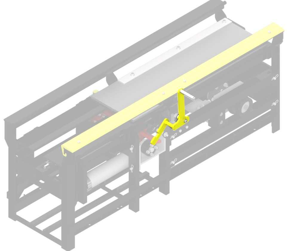 Operation Manual Roller-Up: 102797 In situations where a Roller is needed to be manually activated, your DuraTrans Conveyor is equipped