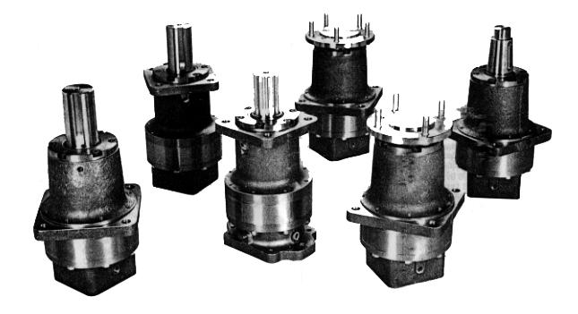 HECO Hydraulic Gear Box Parts listing shown on following pages 52 Belanger, Inc.
