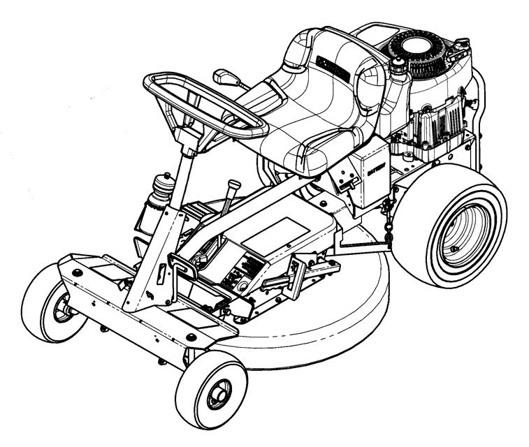 "Parts Manual for 28"" / 71cm REAR ENGINE RIDER EUROPEAN SERIES"