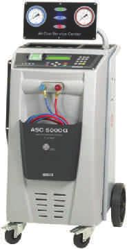 75* per week ISC A/C Machine Semi Automatic IC-BASIC Designed & manufactured in Italy Semi automatic system Manual recovery of gas