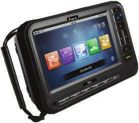 7 HD touch screen Comes in blown moulded hard case Includes many common adaptors Genuine Autel