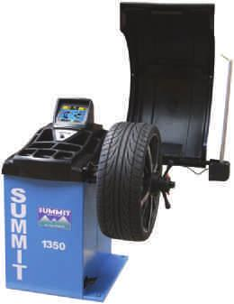 rim diameter, width & offset Bright LCD display monitor with 3D graphics Rotary selector for different