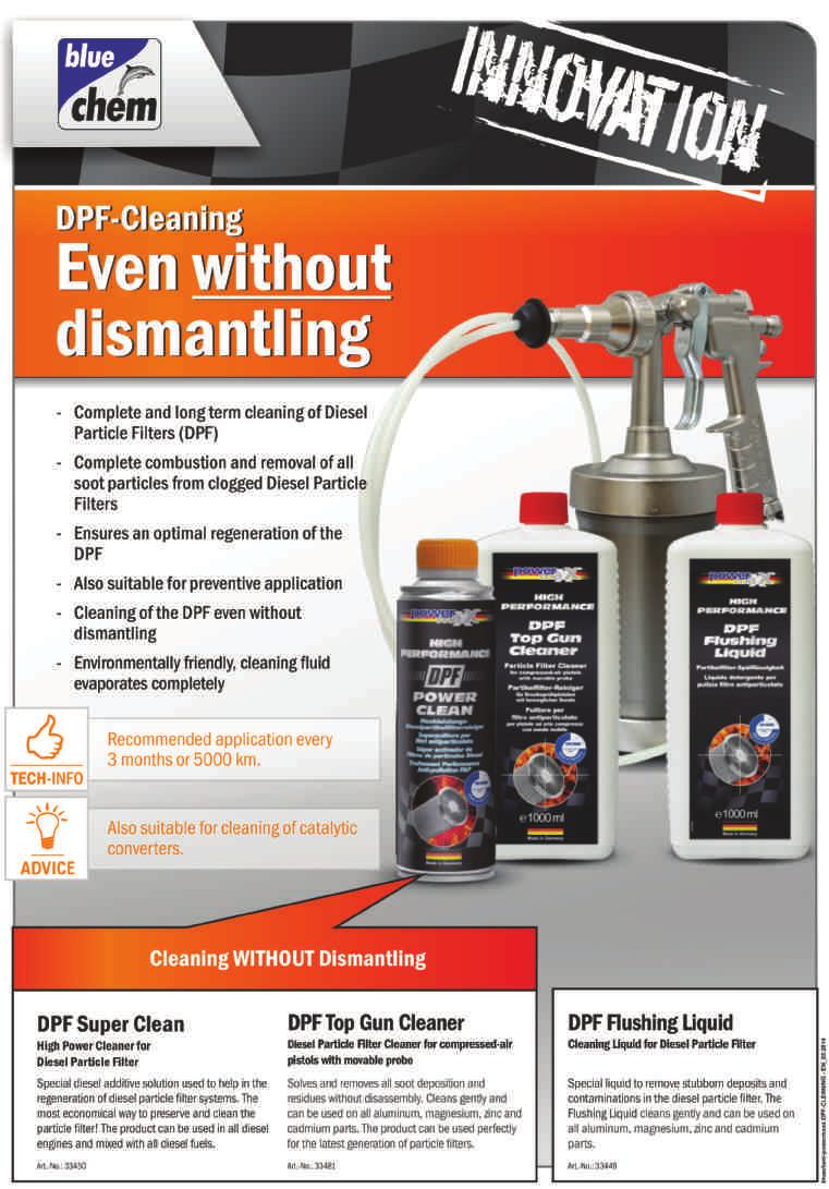 Cleans gently and can be used on all aluminium, magnesium, zinc and cadium parts.