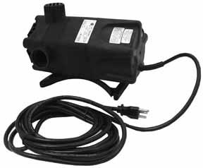 TLL UP TO GPM 707-0 COMPLETE PUMP -CIM-R 0 CORD 07 707-7 COMPLETE PUMP -CIM-R CORD 07 MODEL WP-9-PW Waterfall & pond pump Used to operate waterfalls,