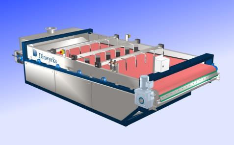 Belt widths: 1,2m. 1,6m. 1,9m. GT 1200, 1600, 2000 Gravity tables for sludge thickening. Inlet sludge content 0,7-3% DS.