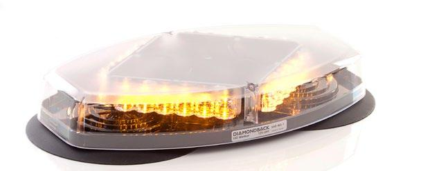 Lightbars and Minibars Econo Minibar 10 Fully waterproof and vibration resistant, this LED Econo Minibar is the most economical in its class.