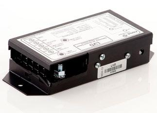 Battery Management LVD 100 The LVD TM surveillance module is designed to disconnect (at a selected voltage) any accessory