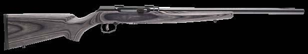"8"" 17 HMR $579 new A22 Modern, Ergonomic Stock // Machined Steel Receiver Extremely Reliable Straight-Blow-Back Action // Open Sights // 10-Round Rotary Magazine A17 TARGET THUMBHOLE Gray Laminate"