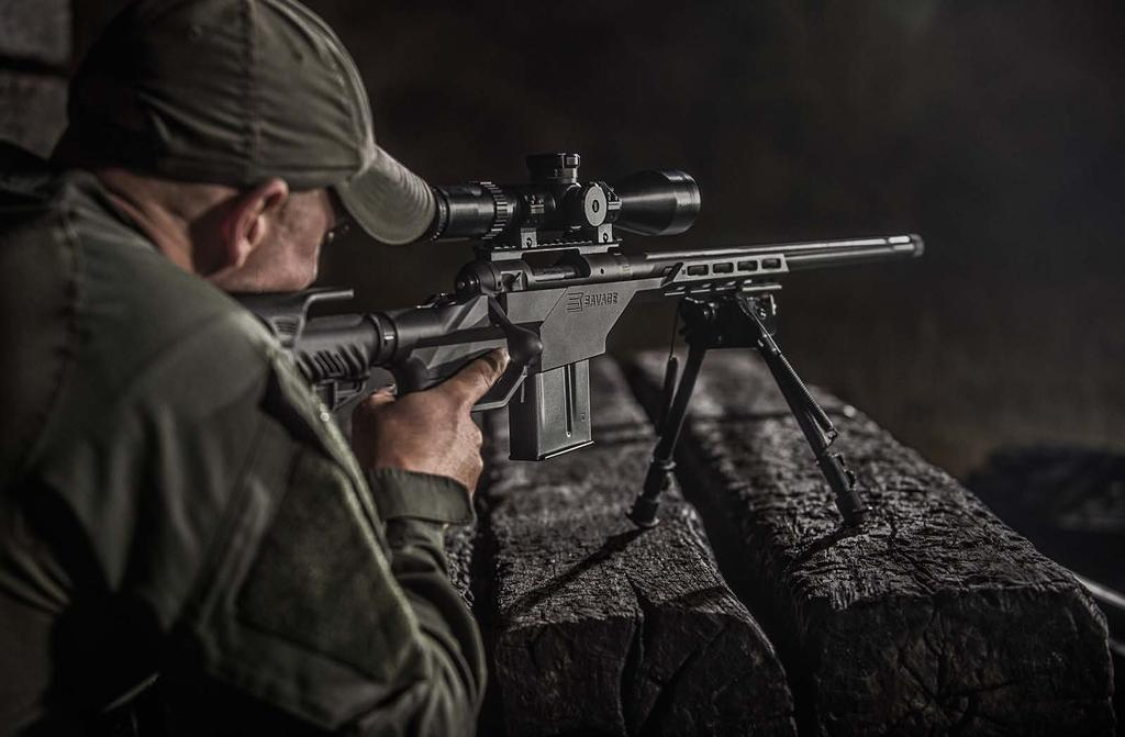 TACTICAL RIFLES Rifles in this series have many different features for many different purposes. But every one of them is built on the legendary Model 110 action, the most accurate factory action ever.
