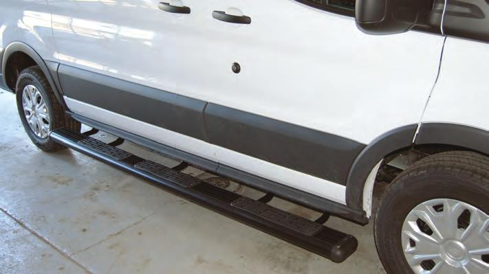 Assists in rear entry Description Part # Hitch Step