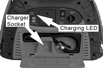 Recharge after every use if possible, and thereafter, once every three months. Always avoid leaving the unit in a state of discharge.