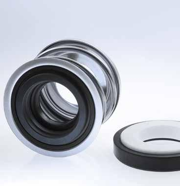 BT-PN l 1 d 3 5 5a 5b 4 3 1 2 3a d 1 ±0,05 d 6 ±0,1 d 7 0,1 The BT-PN is a large series mechanical seal with a simple yet effective design that is easy to assemble.