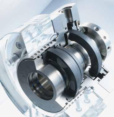 Mechanical seals Mechanical seals for pumps Gas-lubricated seals HRGS-D HRGS-DC 1.