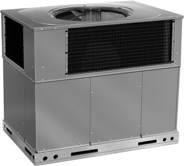 and evaporator coils Tin plated copper evaporator coil standard (single phase only) Enhanced dehumidificaton feature on high stage cooling with use of a dehumidistat Two stage scroll compressors