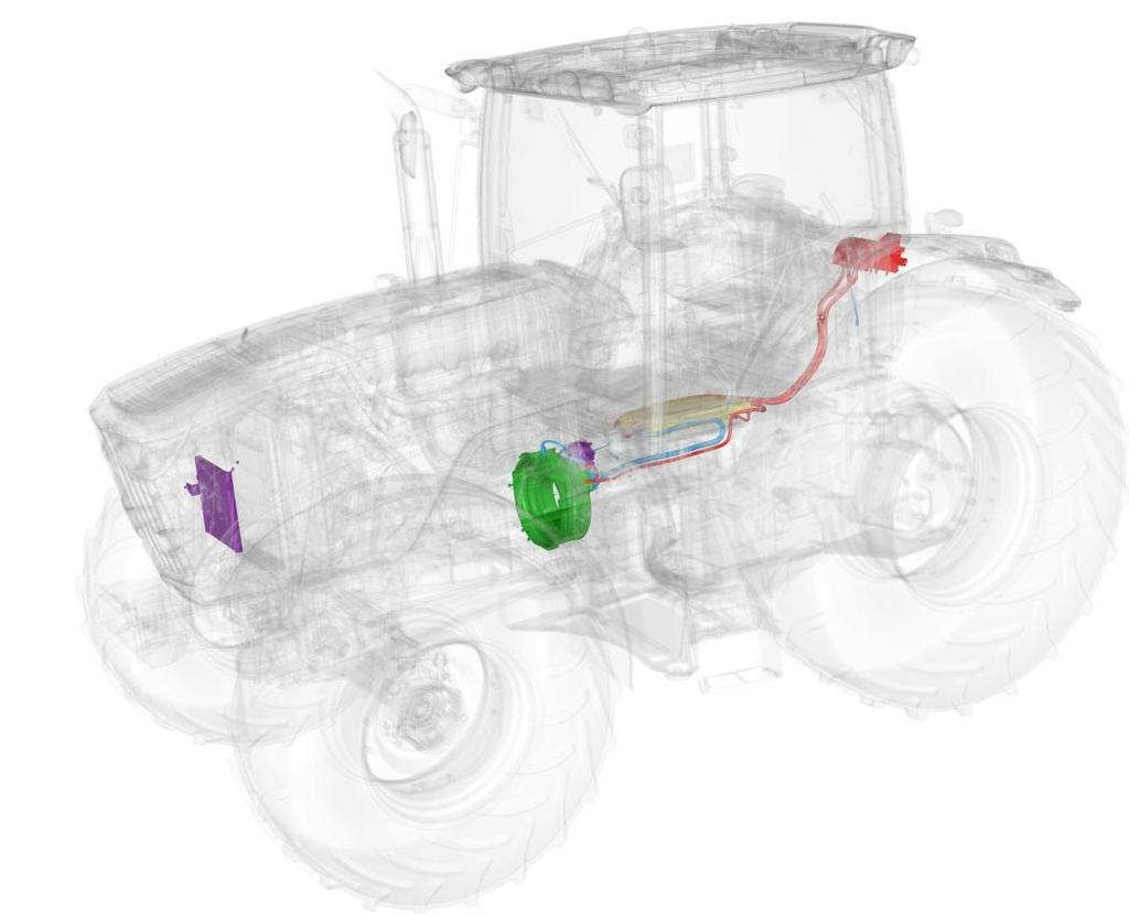 Summary John Deere 6210RE: The next level of system integration Coordinated development: implements & tractors High performance