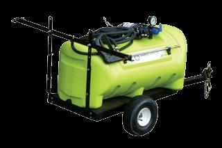 RECHARGEABLE TROLLEY SPRAYER 16L, 2.