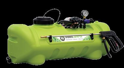 3L/min 70psi Pump with Lance $229* 16L WeedMasta Rechargeable sprayer 2.