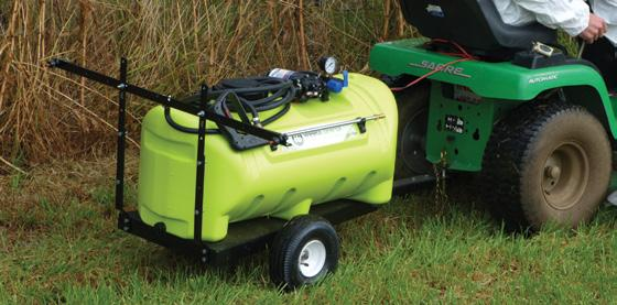 chemical wastage ONLY $229 Sprayer + Trolley SAVE $44! 12 VOLT SPOT SPRAYERS 55L/95L, 8.