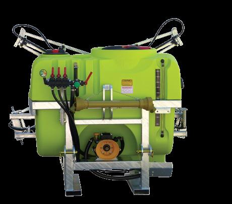 in-cab switch box Engineered frame to withstand harsh conditions $9,945* 1000L LinkOn Plus with 12m manual lift and fold boom