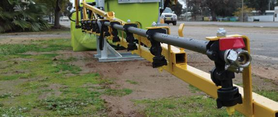 STEEL BOOMS 10m/12m PINNACLE PLUS Galvanised Steel Booms Self-levelling booms allows boom to ride