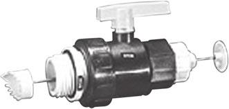 Coolants 2313594 275 Gallon Tote Ball Valve Dispensing Tool To dispense coolant from 275-gallon totes, a new ball valve dispensing tool has been added to the Cat product line-up.