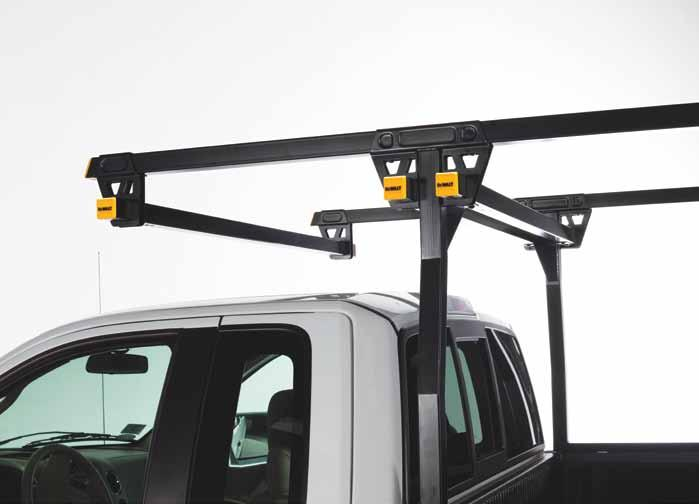"secure, and durable. The 2"" square tube Steel Truck Rack is the right tool for the job."
