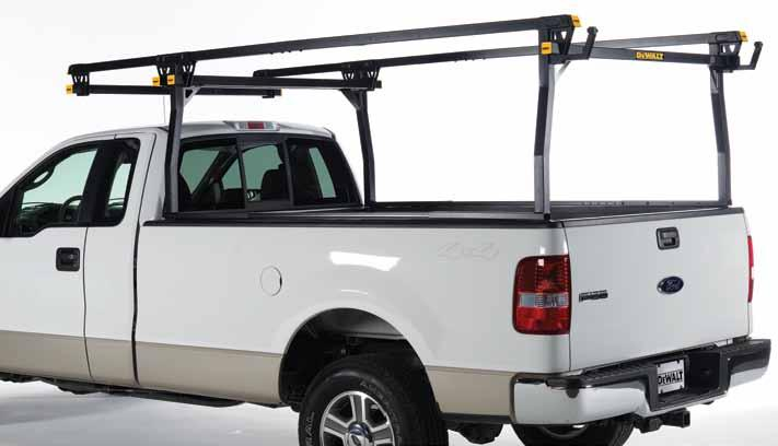 If you demand more from your equipment, you should demand a DeWalt INDUSTRIL GRDE Steel Truck Rack.