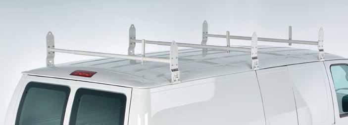 INDUSTRIL GRDE Steel van Rack systems CONTRCTOR Steel Rack Systems industrial grade Steel 2- & 3-ar Van Rack 2-bar #DIGsvr740 3-bar #DIGsvr750 DEWLT Steel 3-ar Van Rack is built to handle extreme