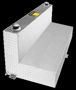 INDUSTRIL GRDE Transfer Tanks and Combo INDUSTRIL GRDE luminum Toolboxes Fit Guide LUMINUM L-TNKS ND COMO L-SHpe liquid transfer tank and storage chest INDUSTRIL GRDE - luminum - TOOLOXES FIT GUIDE