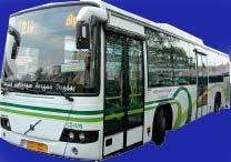 10 Air conditioned buses operated end of 2007 in Chennai Fleet was increased with MOUD financial support through JNNURM Scheme to 100 buses in the end of 2009 AC buses were introduced to facilitate