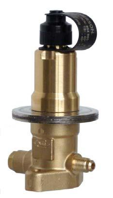 Hot Gas Bypass Regulators Series CPHE Features High quality materials and processes for high reliability and long lifetime Superior partial load performance due to double seat orifice design (CPHE3