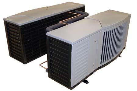 Copeland EazyCool Outdoor Condensing Units for Refrigeration Networks Copeland outdoor condensing unit networks for medium temperature and low temperature applications.