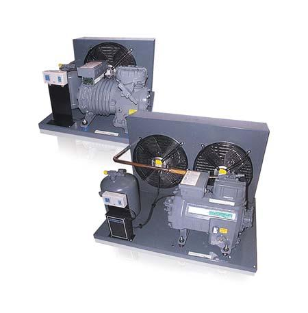 Standard Semi-Hermetic Condensing Units Technical Overview Copeland air-cooled indoor condensing units for medium temperature and low temperature applications.