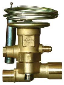 Thermo -Expansion Valve Series T Exchangeable Power Assemblies and Orifices Features Modular design for economical logistics and easy assembly and servicing Very good stability is attained because of