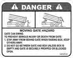 The types of safety signs and