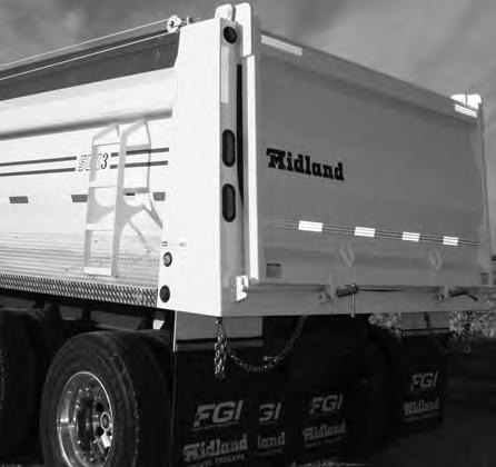 4.2 TERMINOLOGY The Midland End Dump Trailers are designed with a rear gate