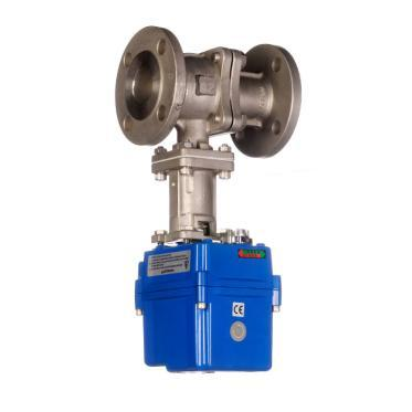 VOLT Electric Actuated Flanged Ball Valve for Higher Temperatures Electric Actuated Flanged Ball Valve Electrically operated Flanged PN16 / ANSI 150 Ball Valve for Higher Temperatures which offers