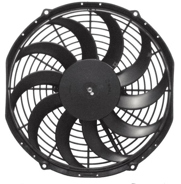 TRIPAC FANS ELECTRICAL PARTS SKEWED BLADE REVERSABLE STRAIGHT BLADE Tripac Fan Blades are reversable to enable change of air flow. A B VOLTS AMPS PART No 9 SKEW BLADE 245mm 51mm 12v 5.