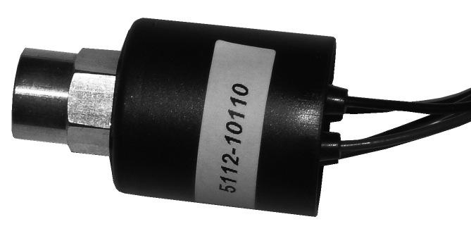 FEMALE TRINARY SWITCH PART No:5112-10020 FEMALE TRINARY SWITCH PART