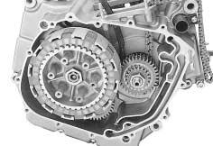 3-7 ENGINE CLUTCH With the primary drive gear held immovable using the special