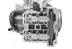 ENGINE 3- CAMSHAFT The camshaft should be checked for runout and also for wear of cams and journals if the engine has been noted to produce abnormal noise or vibration or a lack of output power.