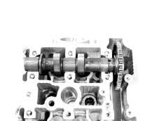 The limit of cam wear is specified for both intake and exhaust cams in terms of cam height, which is to be measured with a micrometer. Replace camshafts if found it worn down to the limit.