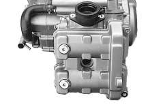 0 in) Adjust the valve clearance of rear cylinder with the same manner of the front cylinder.
