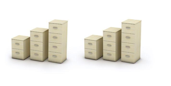Universal Storage Low to high storage (available as 2062mm, 1657mm, 1252mm, 847mm & 725mm high) Desk high