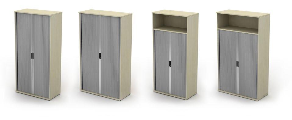 unit mobile open unit tambour unit open unit Desk high storage (with a choice of handle) 1200mm & 1000mm
