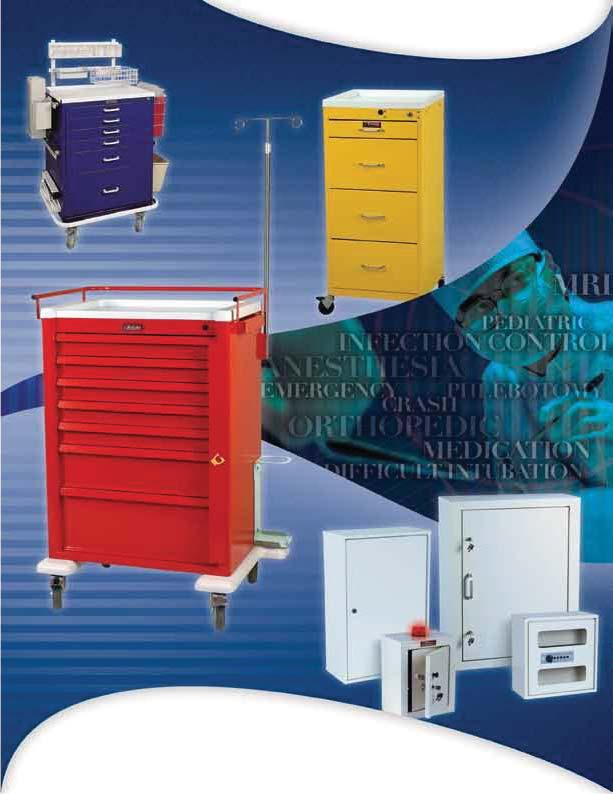 MEDICAL CARTS & CABINETS FOR CLINICAL SETTINGS www.