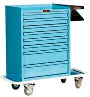 ORTHOPEDIC CASTING & SPLINTING CARTS PAINTED STEEL Turns Any Room Into a Casting Area 602002 Stainless Steel Side