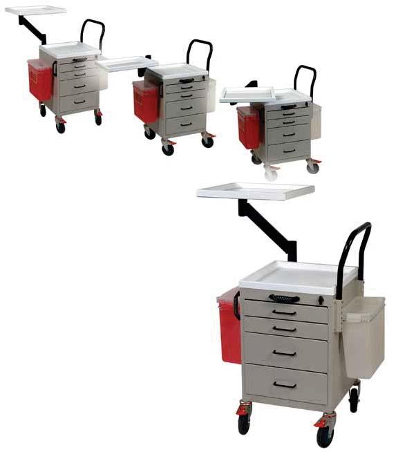 START CART Reduce the Risk of Needle Sticks ANESTHESIA CARTS & WORKSTATIONS Harloff s Start Cart was designed in conjunction with Children s Hospital, Boston to reduce the risk of needle sticks,