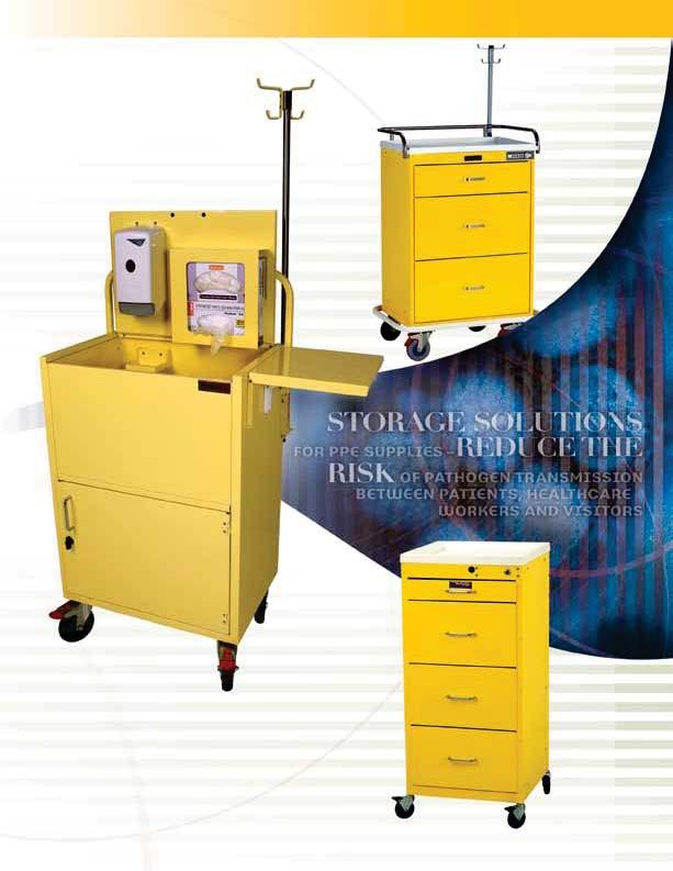 INFECTION PREVENTION & CONTROL CARTS Help prevent the spread of infections within the healthcare setting by using Harloff infection control carts