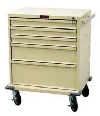 TREATMENT & PROCEDURE CARTS V-SERIES Competitively Priced V30-2K Tall Two Drawer with Lower Storage Compartment Value priced,